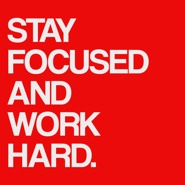 Stay Focused Quotes Captivating Stay Focused  Choose Success  Running On Empty